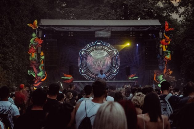 Gaia Trance Xperiment Stage