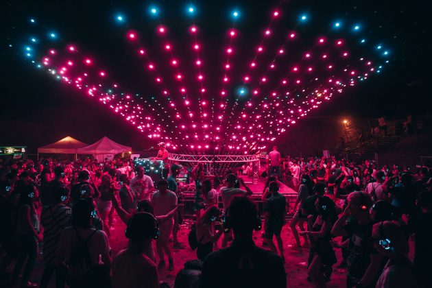 Silent Disco Stage