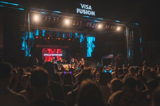 Visa Fusion Stage