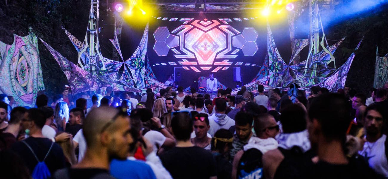 Gaia Experiment Trance Stage