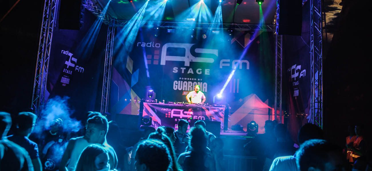 Radio AS FM Stage powered by Guarana