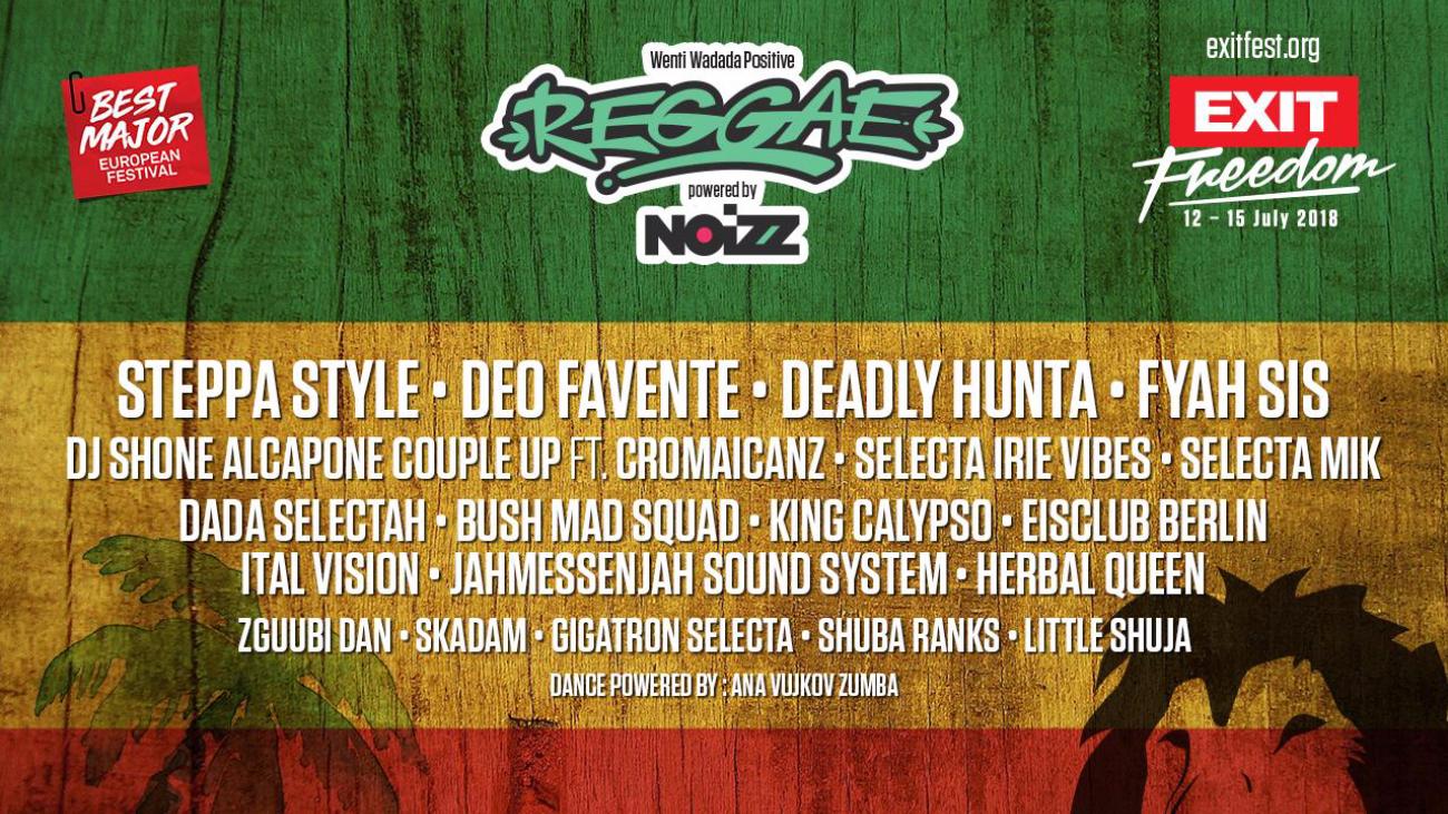 Wenti Wadada Positive Reggae powered by NOIZZ lineup
