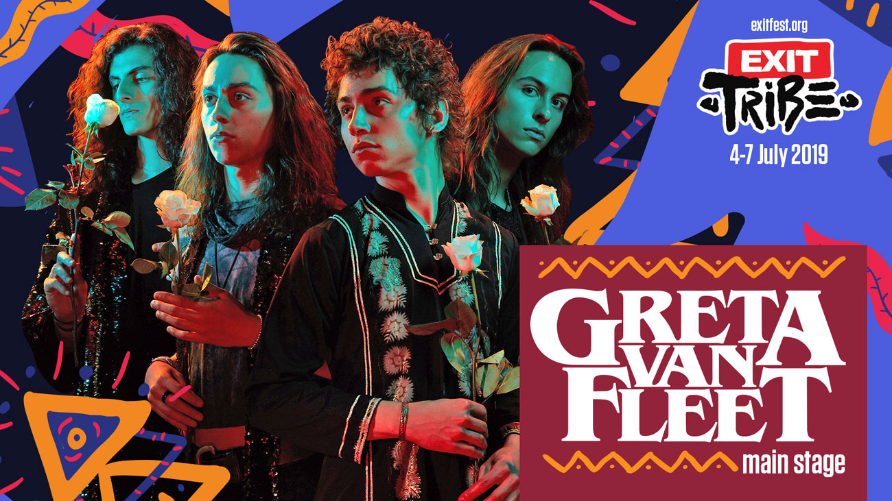 EXIT Festival adds Greta Van Fleet, Phil Anselmo and many more to line-up lead by The Cure!