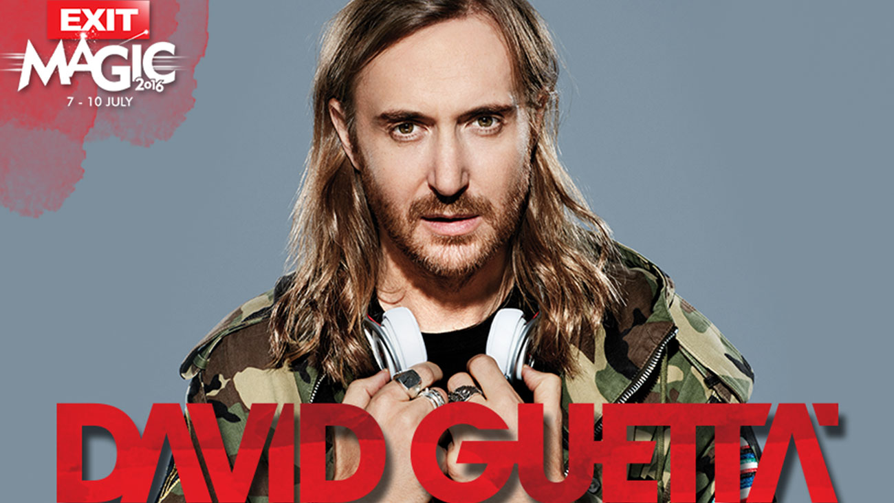 David Guetta's spectacle at Exit festival's Main stage