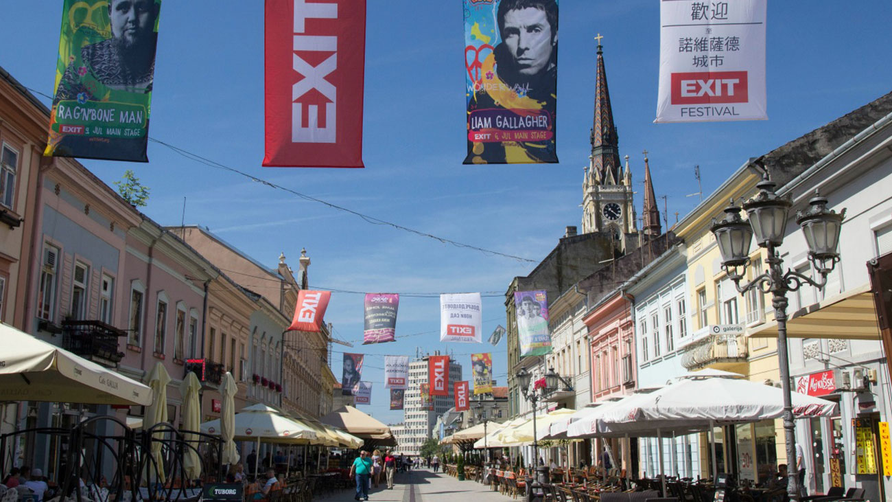 Spotted by locals: Novi Sad, the home of EXIT Festival
