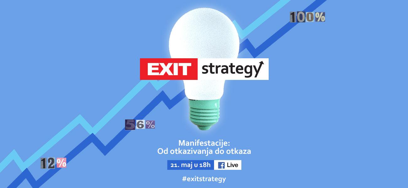 Exit Strategy - Manifestacije: od otkazivanja do otkaza, naslovna fotografija