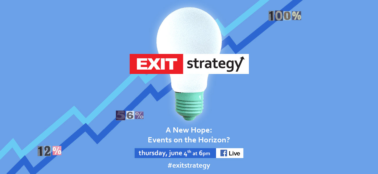 Exit Strategy panel - A New Hope: Events on the Horizon