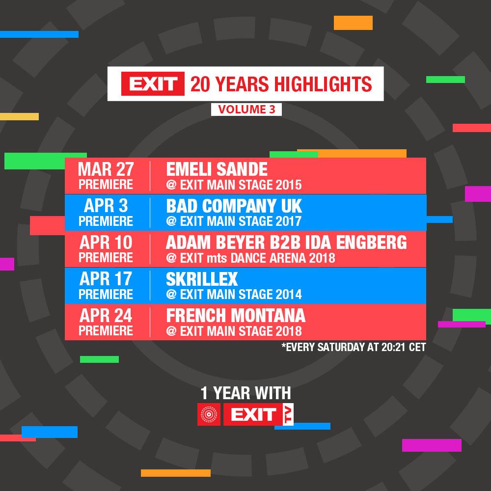 EXIT TV Premijere