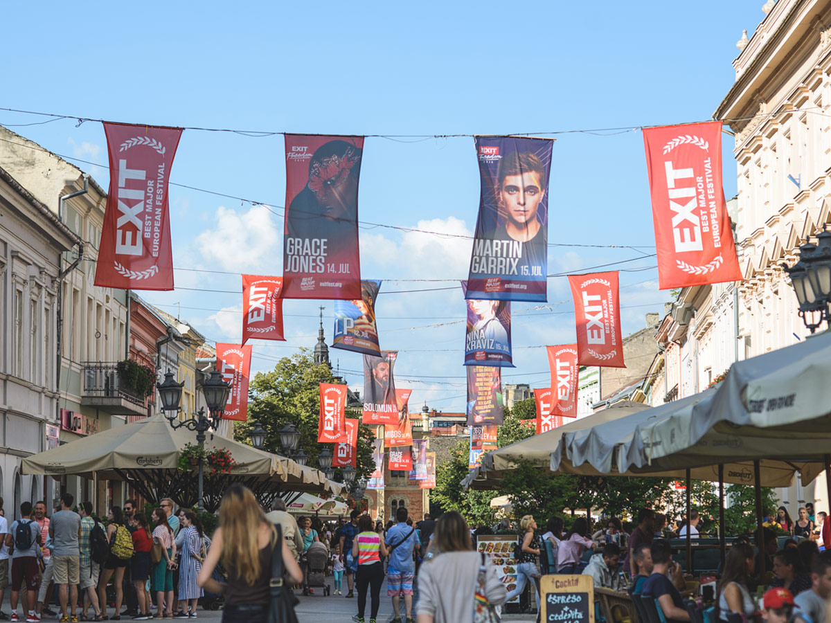 EXIT Festival lokacija