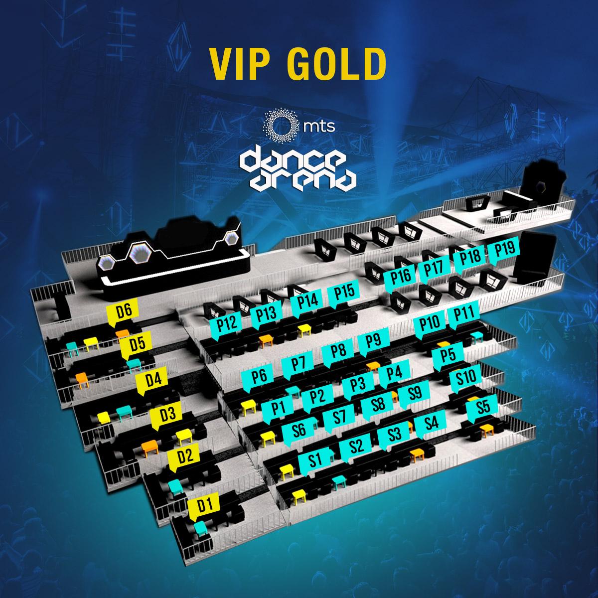 VIP GOLD mapa