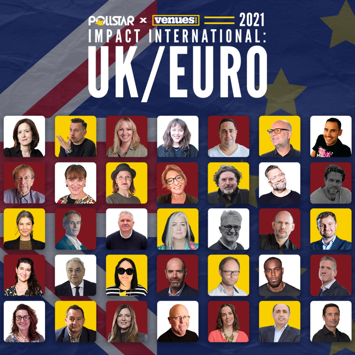 Pollstar x Venues Now - The 2021 Impact Intetnational UK Euro Honorees